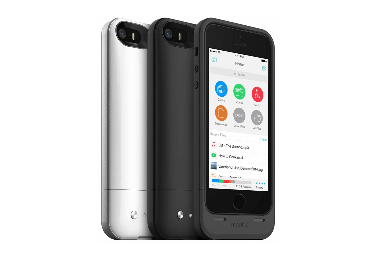 mophie iphone 55s space pack