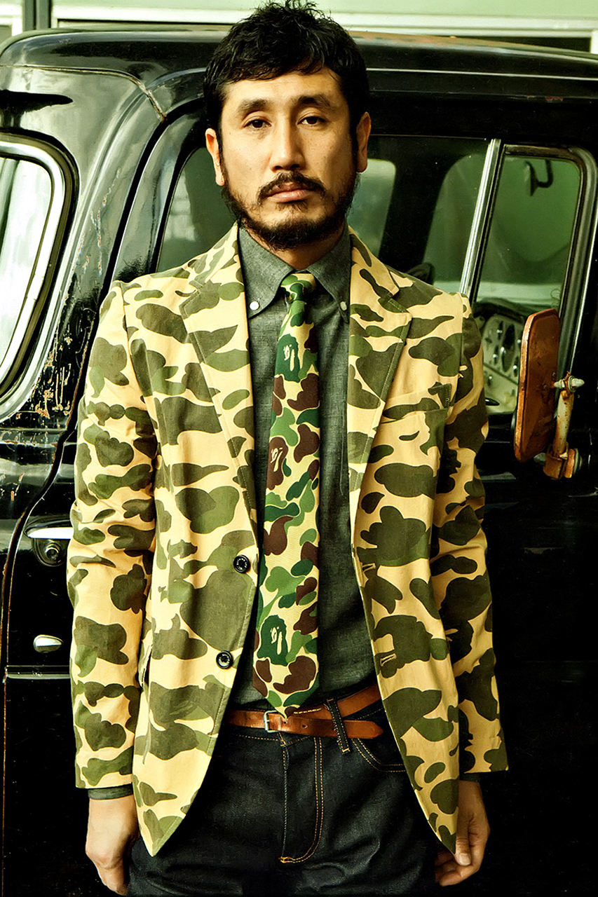 Mr.BATHING APE 2014 Spring/Summer Lookbook for 'E-Mook' Magazine