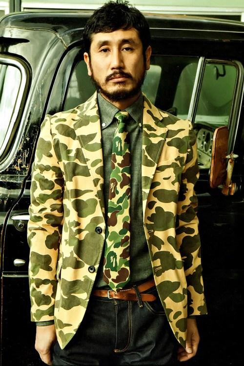 Mr.BATHING APE 2014 Spring/Summer Lookbook for 'E-Mook' Magazine