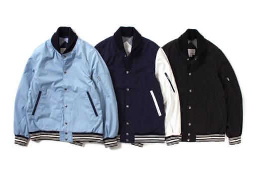nanamica 2014 Spring 65/35 Varsity Jacket