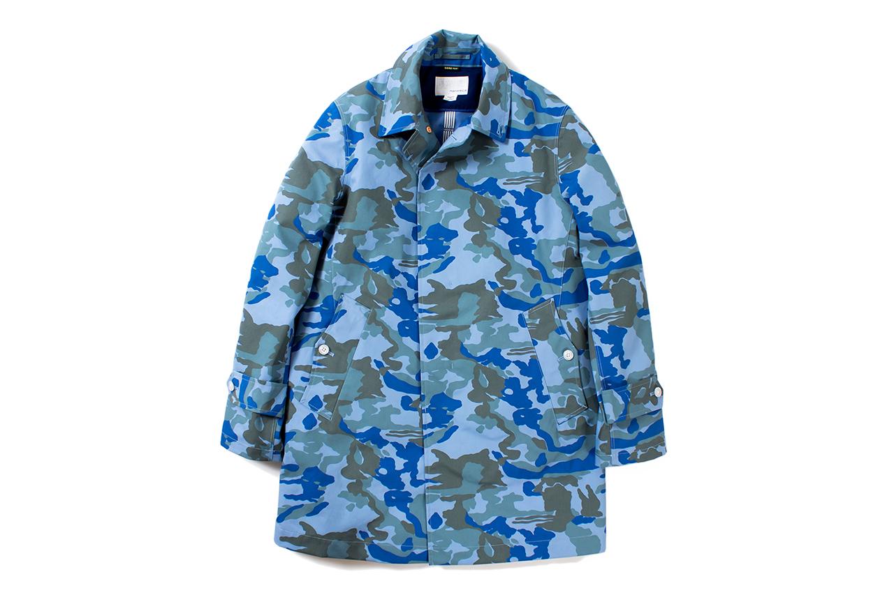 nanamica 2014 spring gore tex soutien collar coat