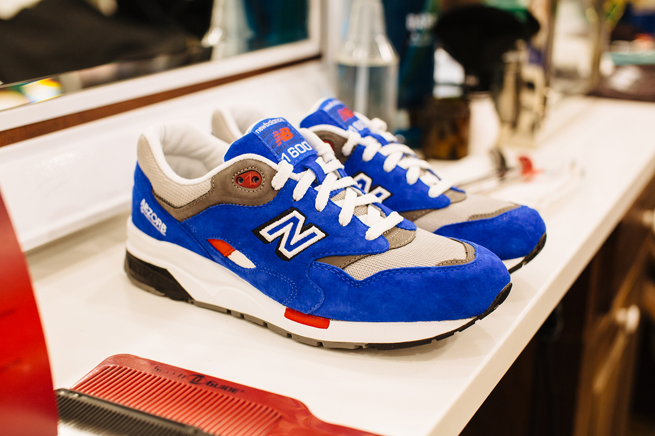 "New Balance Elite Edition ""Barbershop"" Pack Launch @ Fellow Barber New York"