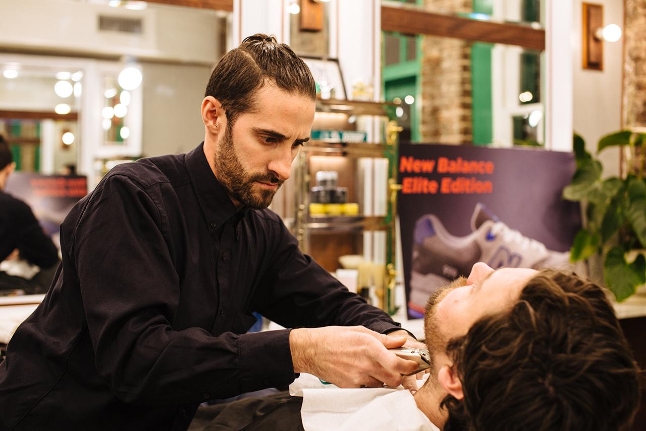 "New Balance Elite Edition ""Barbershop"" Pack Launch @ Fellow Barber New York"