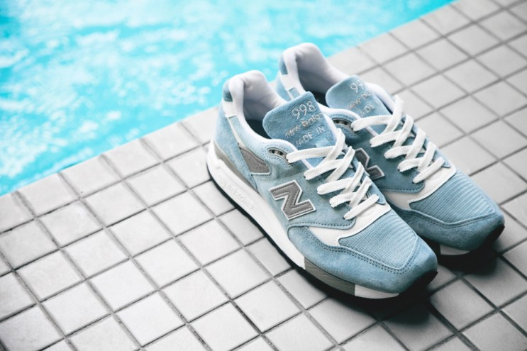 New Balance Made in USA M998 Baby Blue