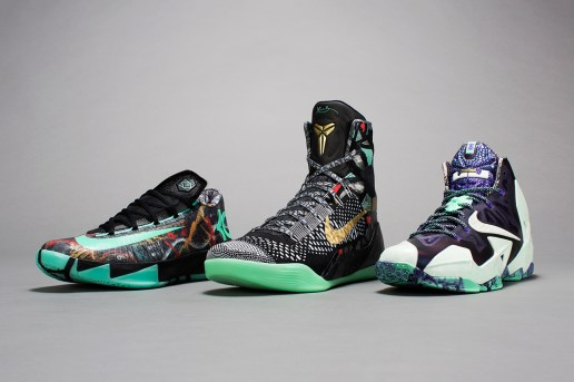 "Nike Basketball 2014 ""NOLA Gumbo League"" Collection"
