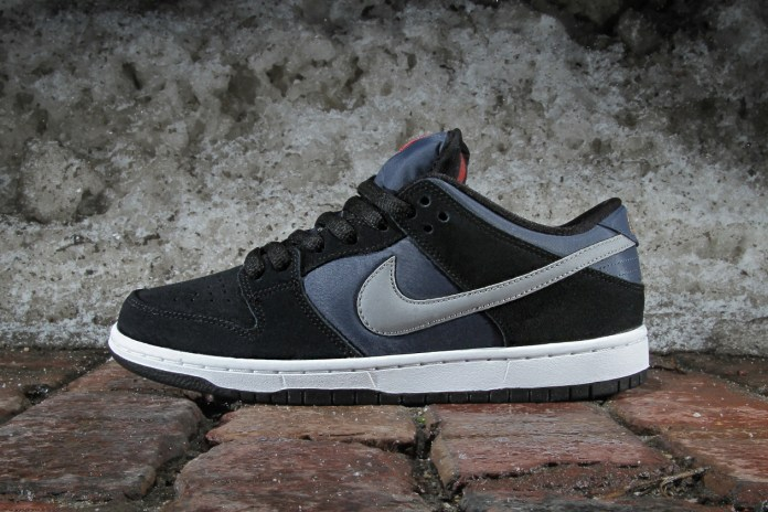 Nike SB Dunk Low Pro Black/New Slate-Reflective Silver