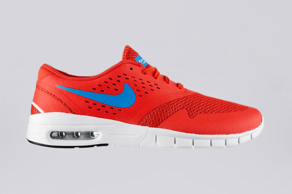 nike sb eric koston 2 max light crimson