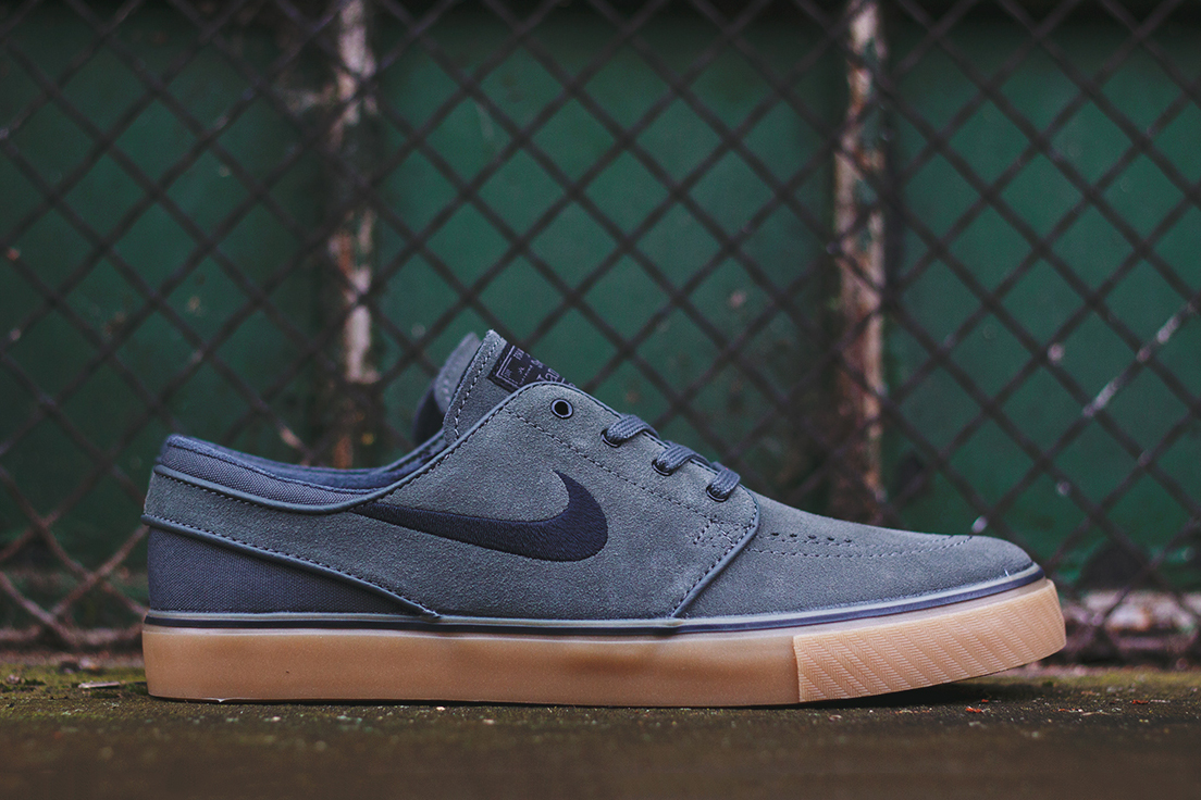 nike sb zoom stefan janoski dark base grey black gum