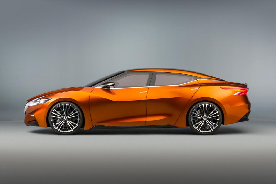 Nissan Maxima Sport Sedan Concept Hypebeast