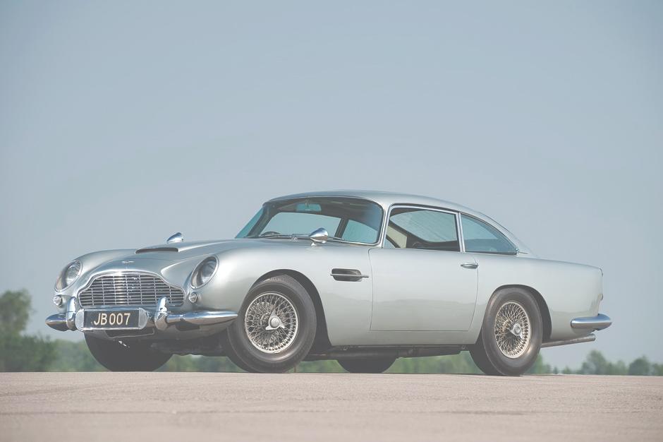 Original James Bond Aston Martin DB5 Now for Sale at £3 Million