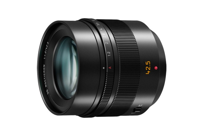 Leica & Panasonic Debut Nocticron Line of Lenses