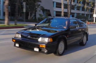 Petrolicious Profiles An 'Original Fanboy' and His 1987 Honda CRX Si