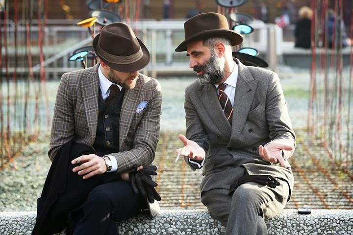 pitti uomo 85 street style by nam
