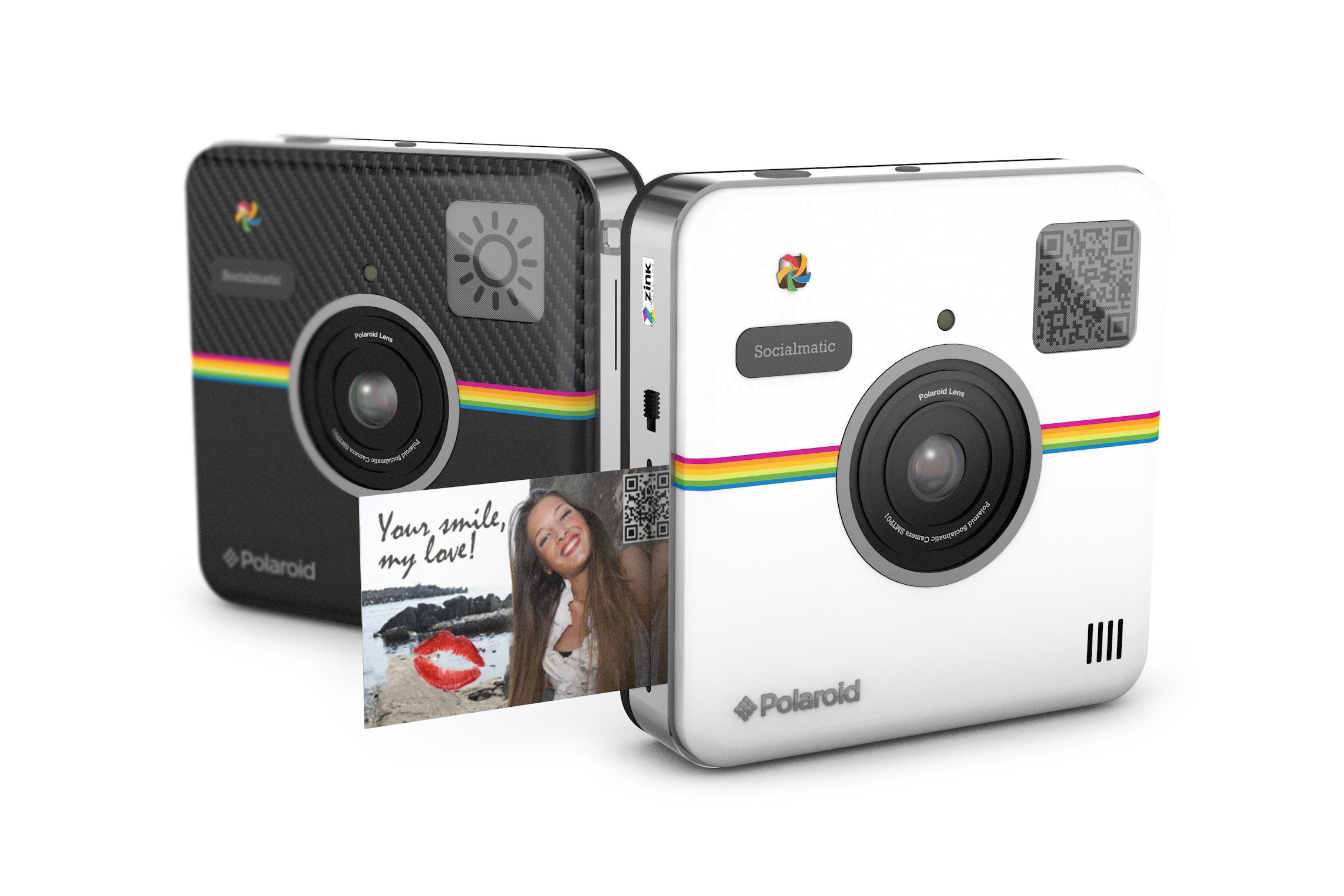 Polaroid Socialmatic Concept Camera to Become a Reality in 2014