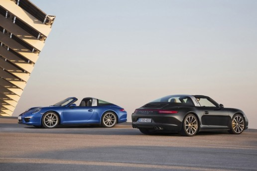 Porsche 911 Targa to Be Revealed at Detroit Auto Show