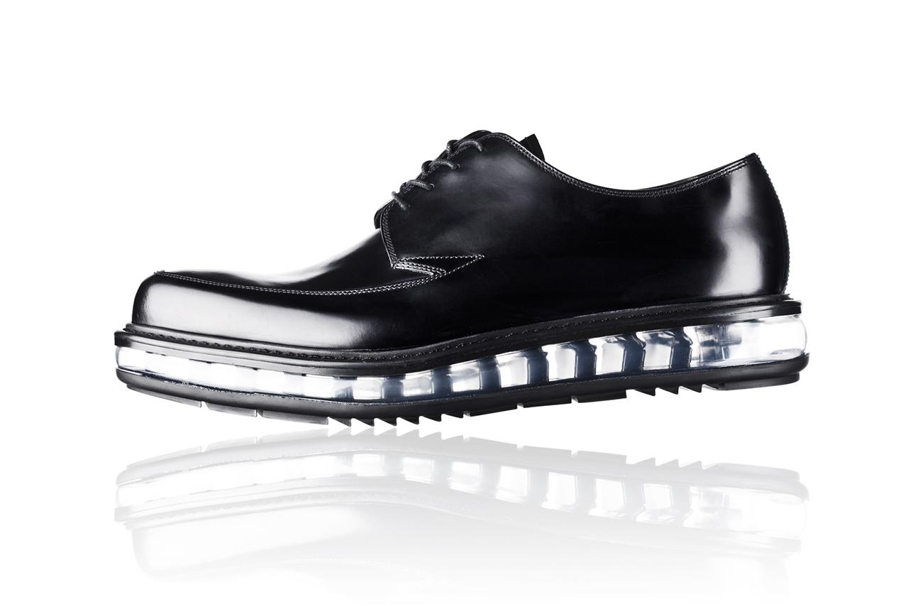 prada 2013 fallwinter levitate footwear collection
