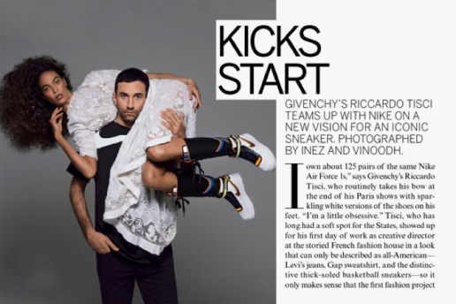 Riccardo Tisci x Nike Collection Preview
