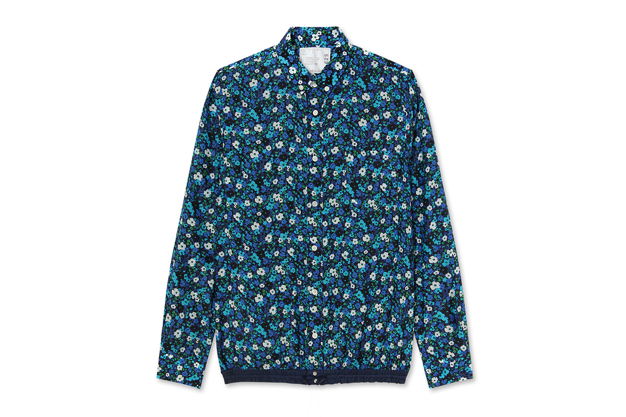 sacai 2014 spring summer flower print capsule collection