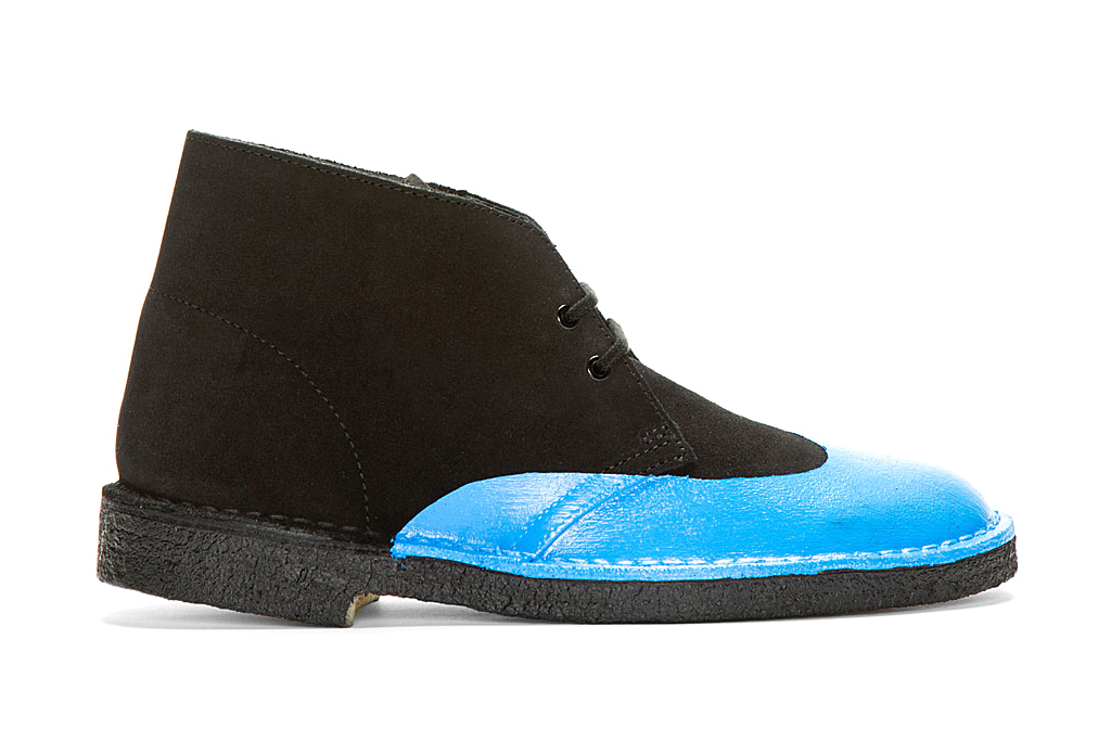 sacai for clarks brogue detail chukka boot pack