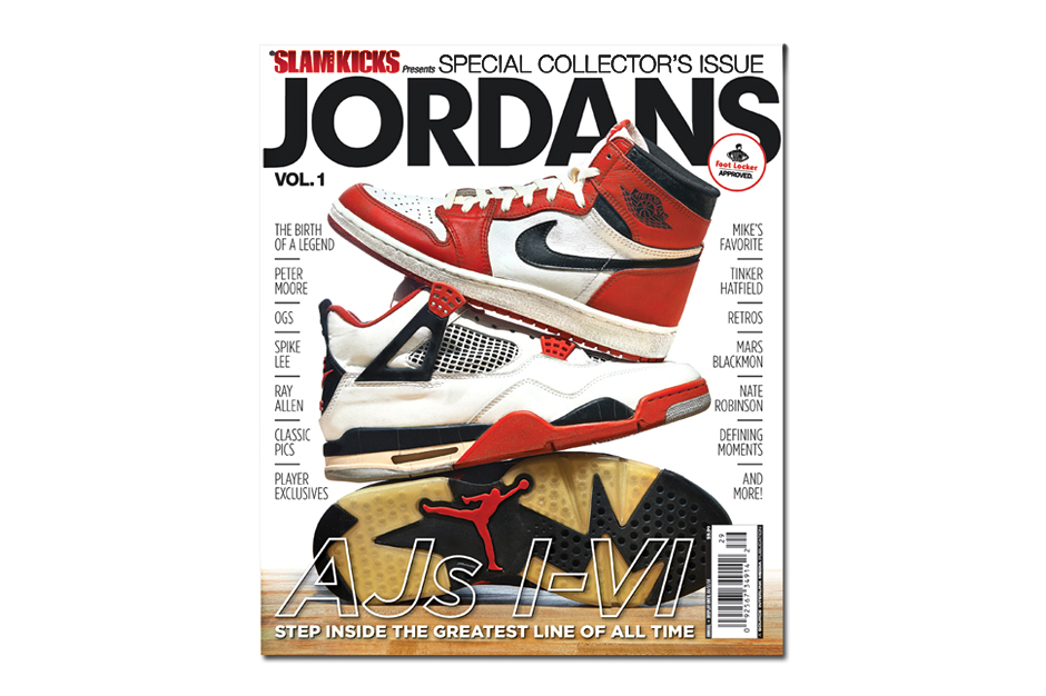 slam magazine jordans vol 1 special issue