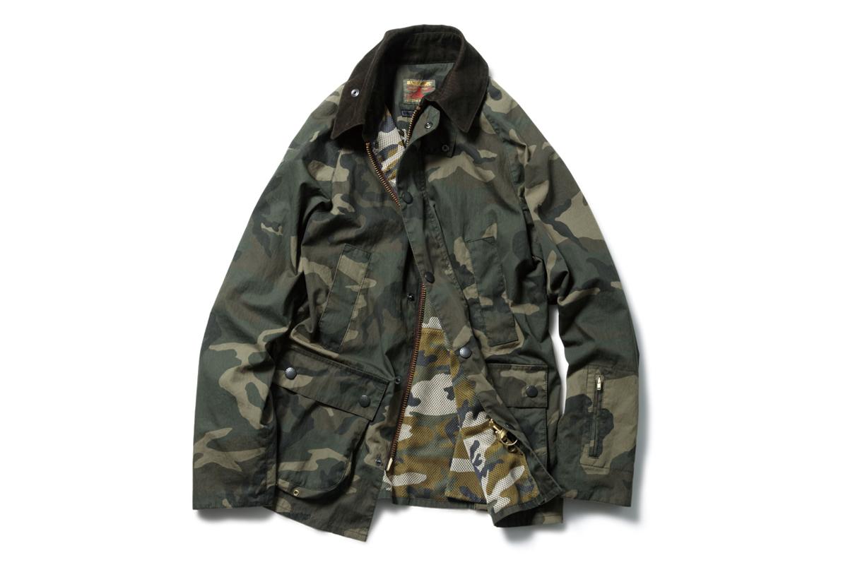 SOPHNET. x Barbour 2014 Spring Slim-Fit Bedale Jacket