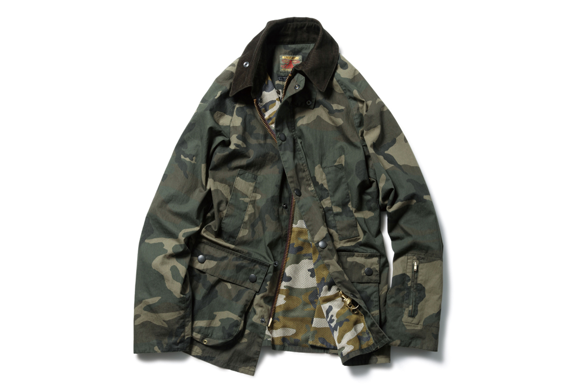 SOPHNET. x Barbour 2014 Spring Slim-Fit Bedale Jacket