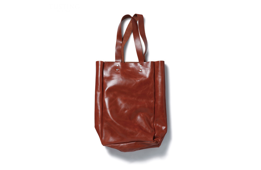 sophnet x tusting leather tote bag collection