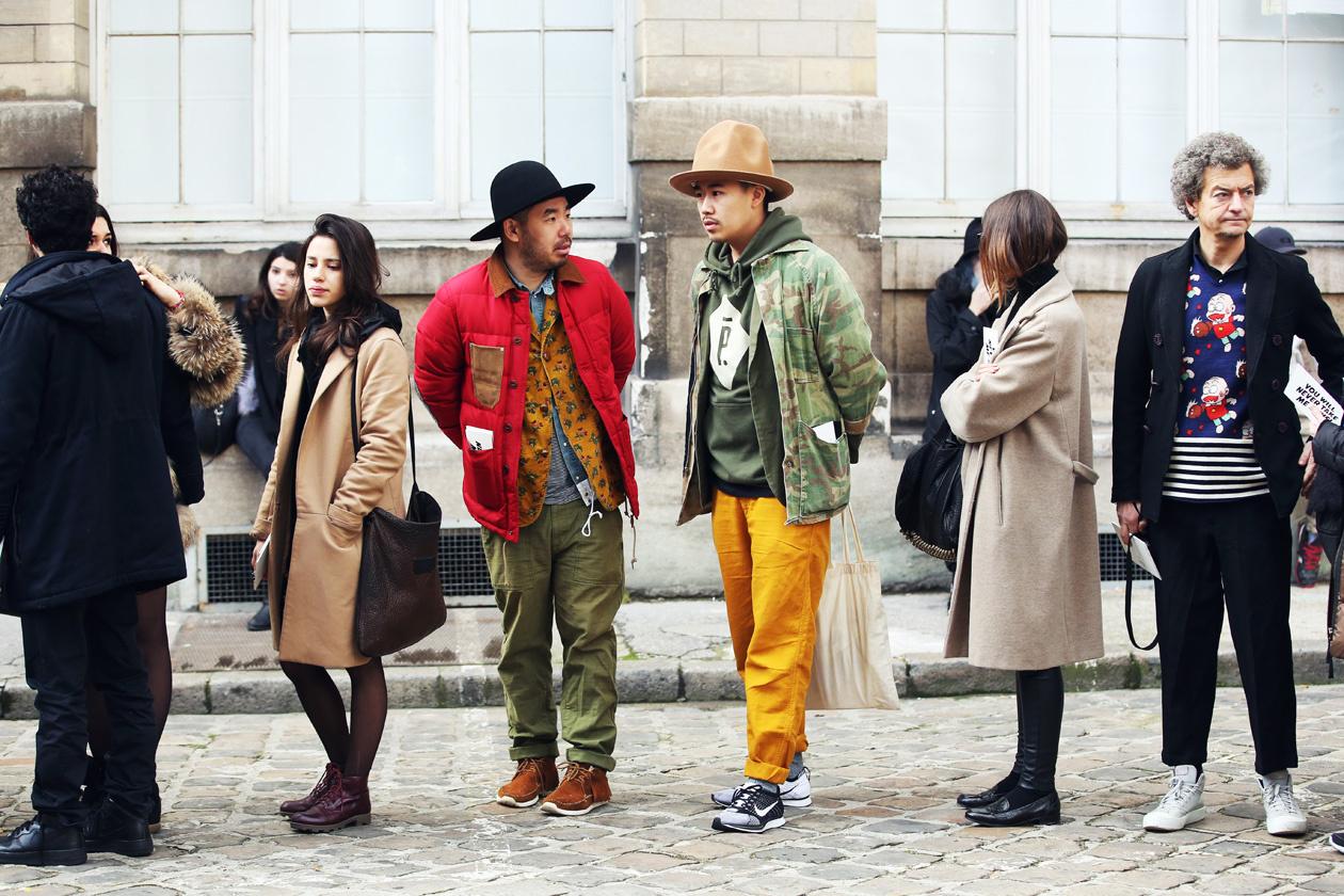 streetfsn paris fashion week fall winter 2014 for grazia it