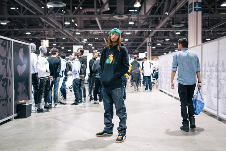 Streetsnaps: Anwar Carrots at Agenda Long Beach