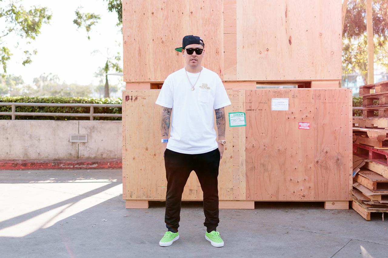 Streetsnaps: Ben Baller at Agenda Long Beach