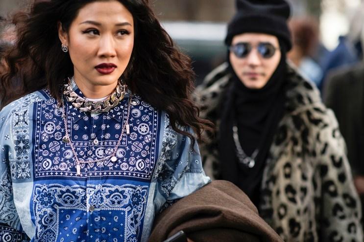Streetsnaps: Paris Fashion Week Part 1 by Dapper Lou