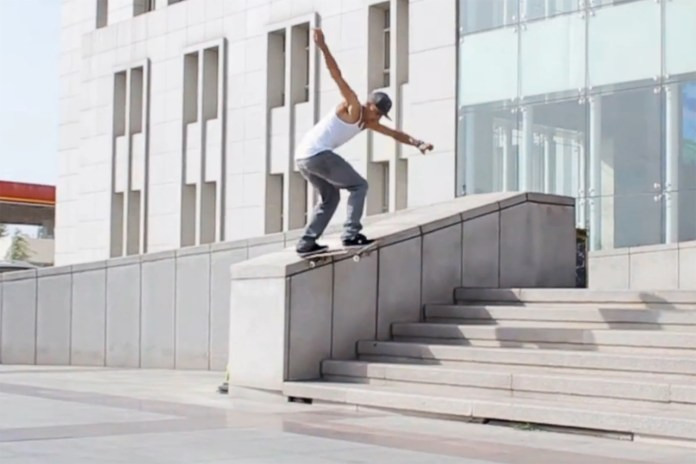 The Red Bull Team Skates Ordos – The Ghost City