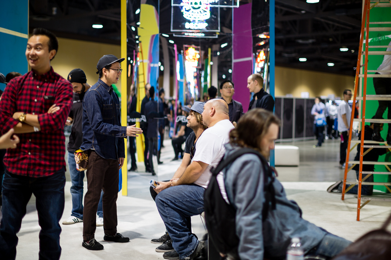 The Trade Show Grind: A Day with Andy Song of Flexfit at Agenda Long Beach