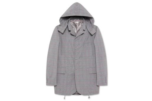 Thom Browne Fishtail Hooded Jacket