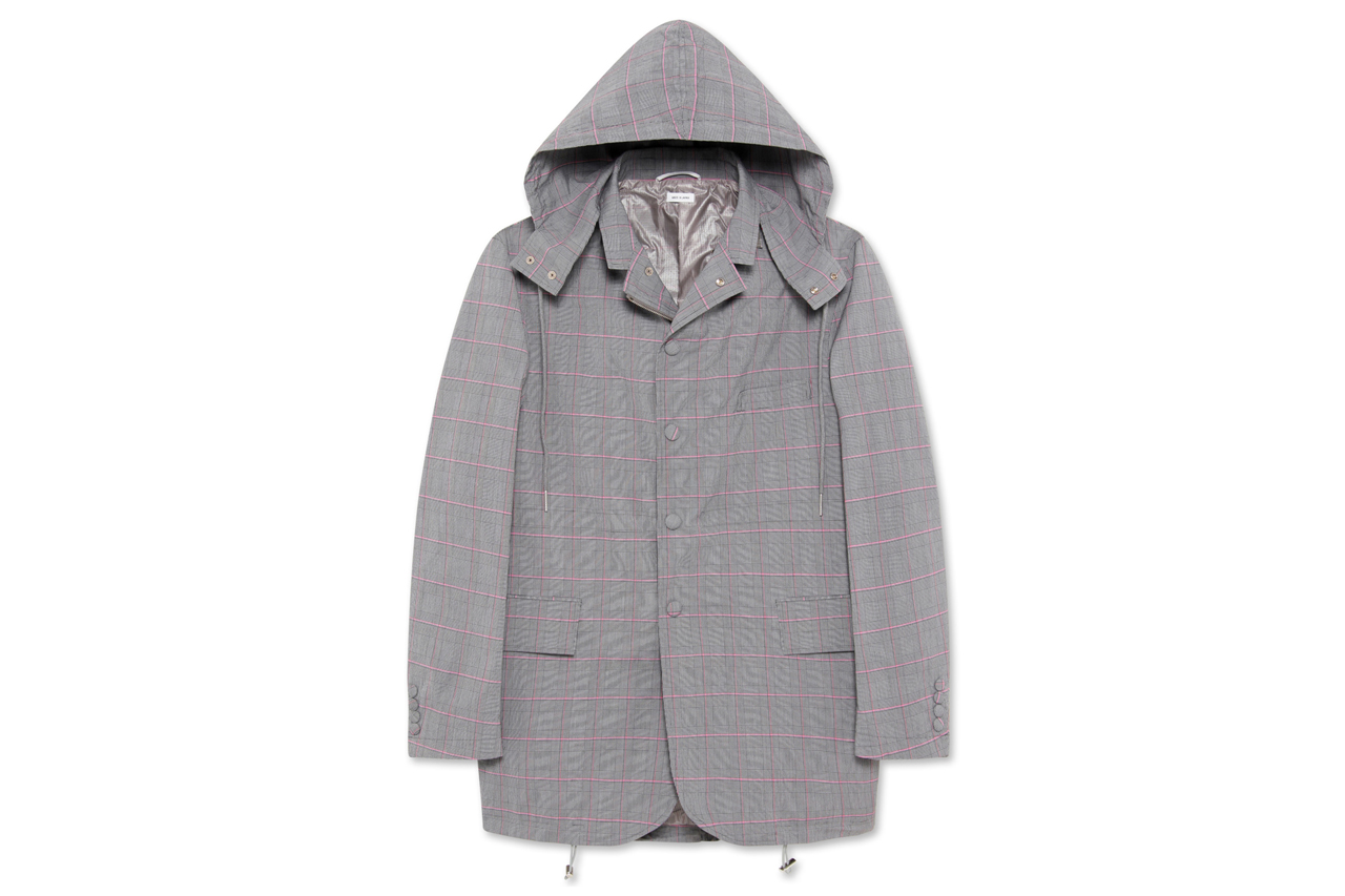 Thom Browne Fishtail Hooded Jacket