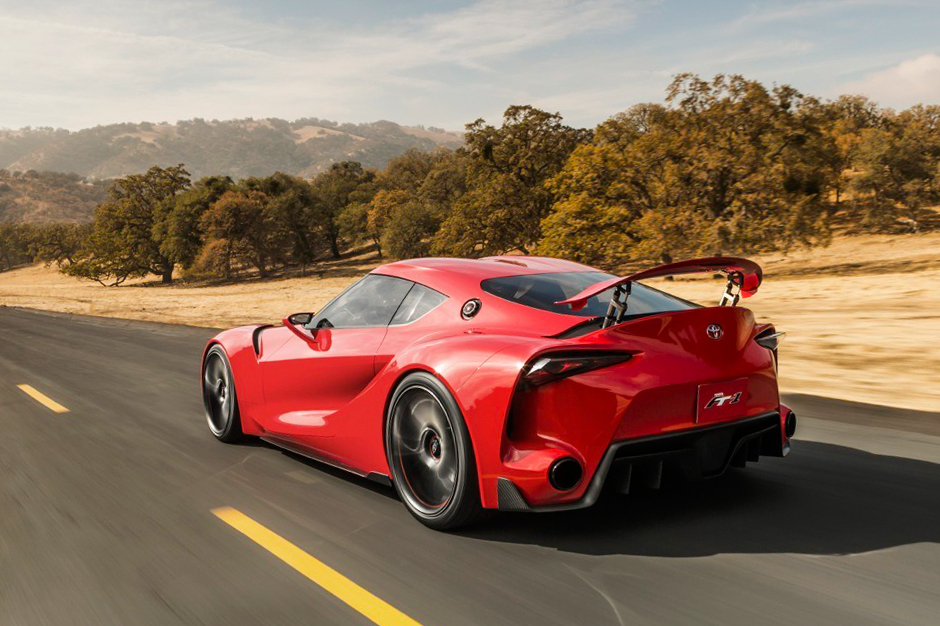 Toyota Ft 1 Supra Concept Hypebeast