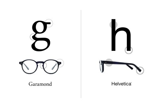 TYPE: The Typeface-Inspired Glasses Collection