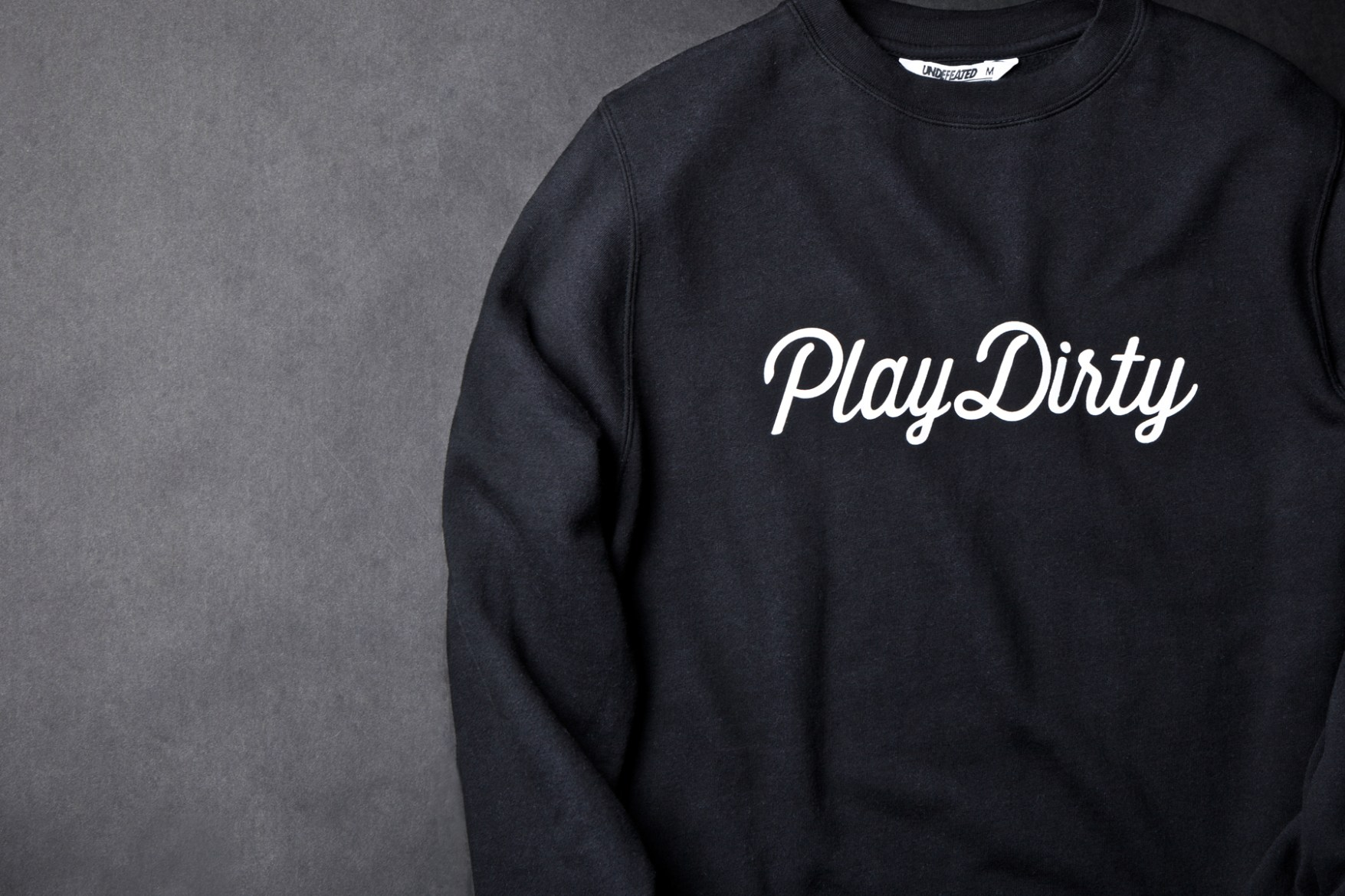 """Undefeated 2013 """"Play Dirty"""" Collection"""