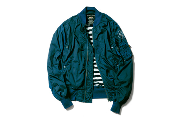 uniform experiment x Alpha Industries Light MA-1 Blouson