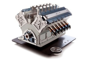 V12 Espresso Machine Pulls Design Concept From Formula One Engines