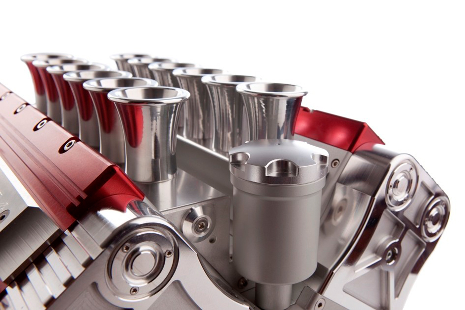 V12 Espresso Machine Pulls Design Concept From Formula One Engines