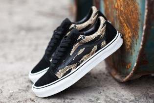 Vans Classics 2014 Spring Old Skool Tiger Camo/Black