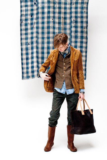 "visvim 2014 Spring/Summer ""Dissertation On a Happiness with No Country"" Lookbook"