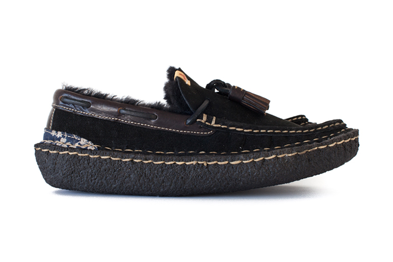 visvim ISLAND LAKE SLIPPERS-FOLK