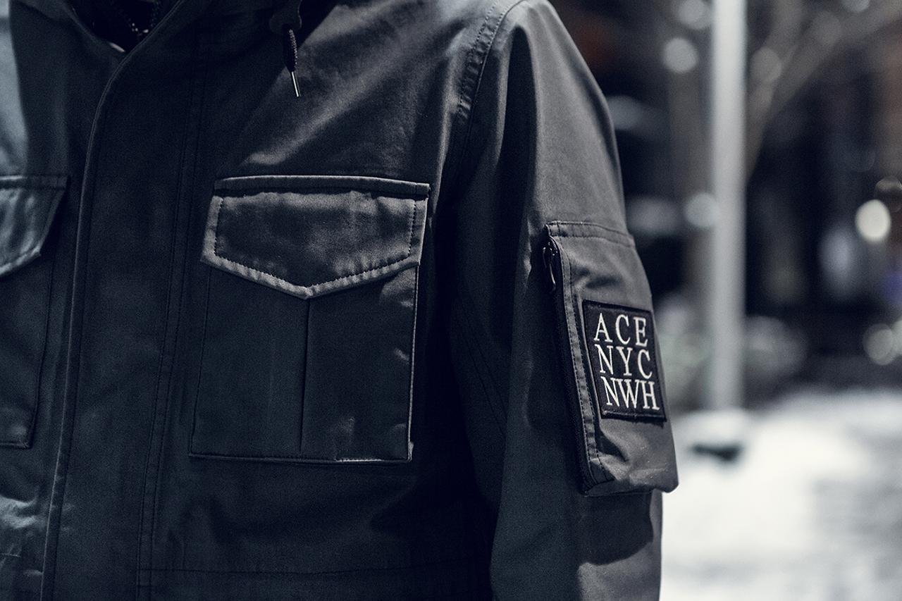 wings+horns x Ace Hotel x nanamica 10th Anniversary GORE-TEX Parka