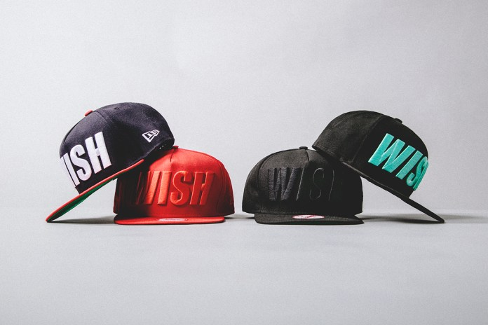 "Wish 2014 Spring ""CAPS"" Snapback Pack"