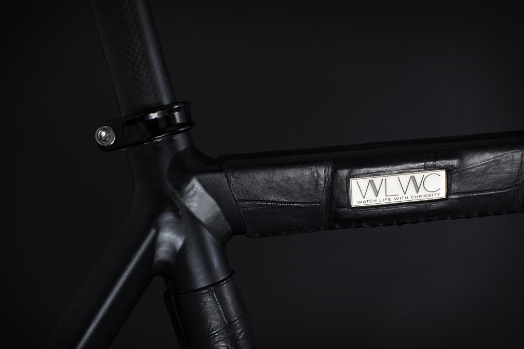 wlwc crocodile wrapped fixed gear bike