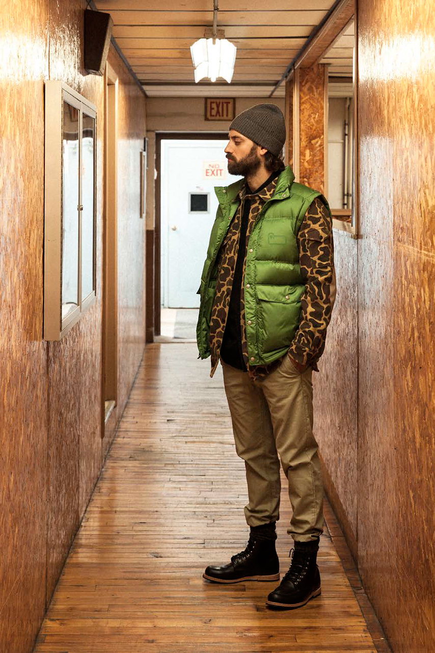 Woolrich White 2014 Fall/Winter Lookbook