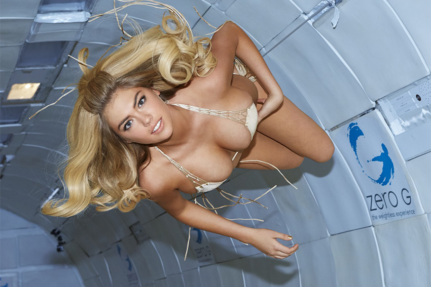 """2014 Sports Illustrated Swimsuit Issue """"Zero Gravity"""" Editorial featuring Kate Upton"""