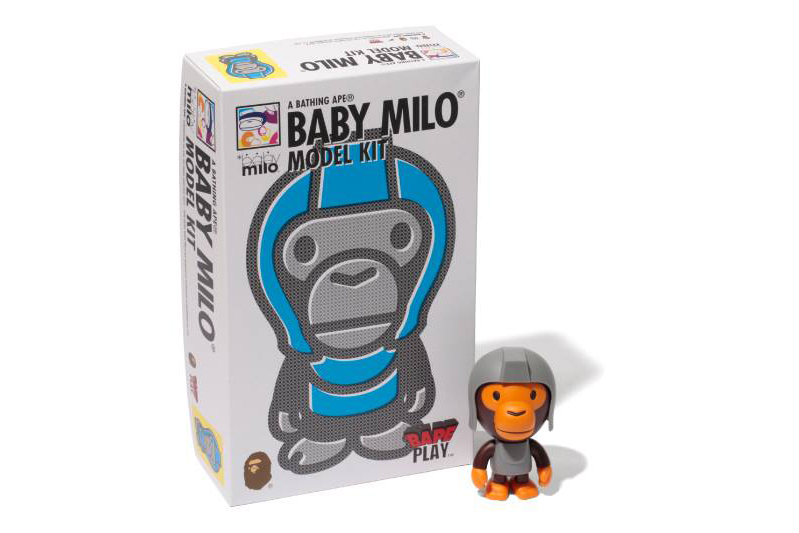 a bathing ape baby milo model kit